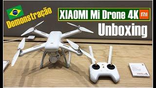 XIAOMI Mi Drone, xiaomi mi drone 4k preço para o brasil Unboxing