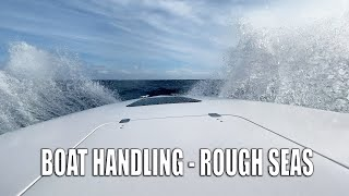 HOW TO DRIVE A BOAT IN ROUGH SEAS - BIG OCEAN SWELLS!