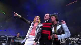 "Tiesto -ft.ICONA POP-"" I Don't Care"" , ""Lets Go""-Ultra Music Festival 2014"