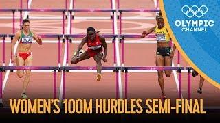 100m Hurdles - Women's Semi-Finals Full Replay - London 2012 Olympics