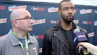 NYCC 2015 - Shadowhunters Isaiah Mustafa & Ed Decter Interview