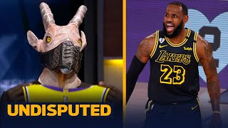 Skip & Shannon react to LeBron & Lakers Game 4 win over Dame's Blazers | NBA | UNDISPUTED