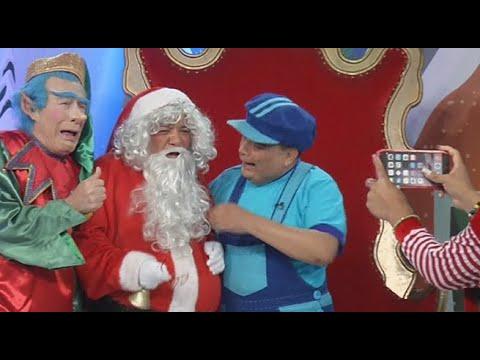 El niño Arturito logró conmover a Papá Noel para sacarse una fotografía | El Wasap de JB
