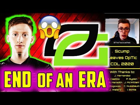 SCUMP Officially Leaves OpTic! - End of an Era    CDL Rostermania News & Rumors    CoD: MW