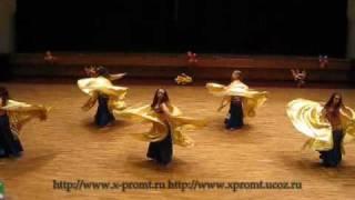 Wings  Bellydance Танец живота с крыльями Египетский бог Ра»