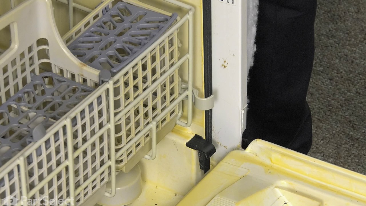 Replacing your Whirlpool Dishwasher Water Deflector