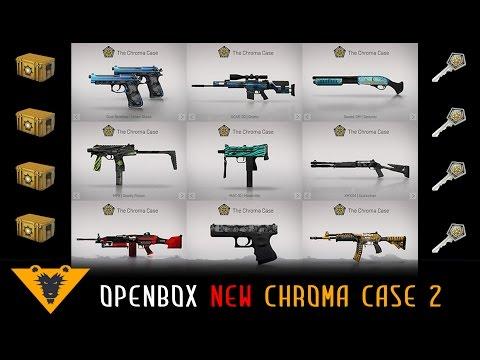 Открываем Chroma Case 2 // Tanko & Kiborgik CS GO