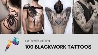 100 Blackwork Tattoos