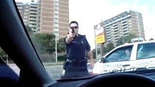 Смотреть онлайн Крутые погоди с ДТП от полиции США