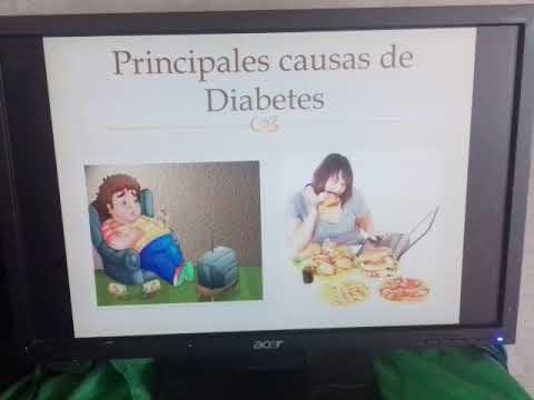 Limones en la diabetes