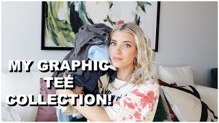 My Graphic Tee Collection + Where To Get Them! | Keaton Milburn