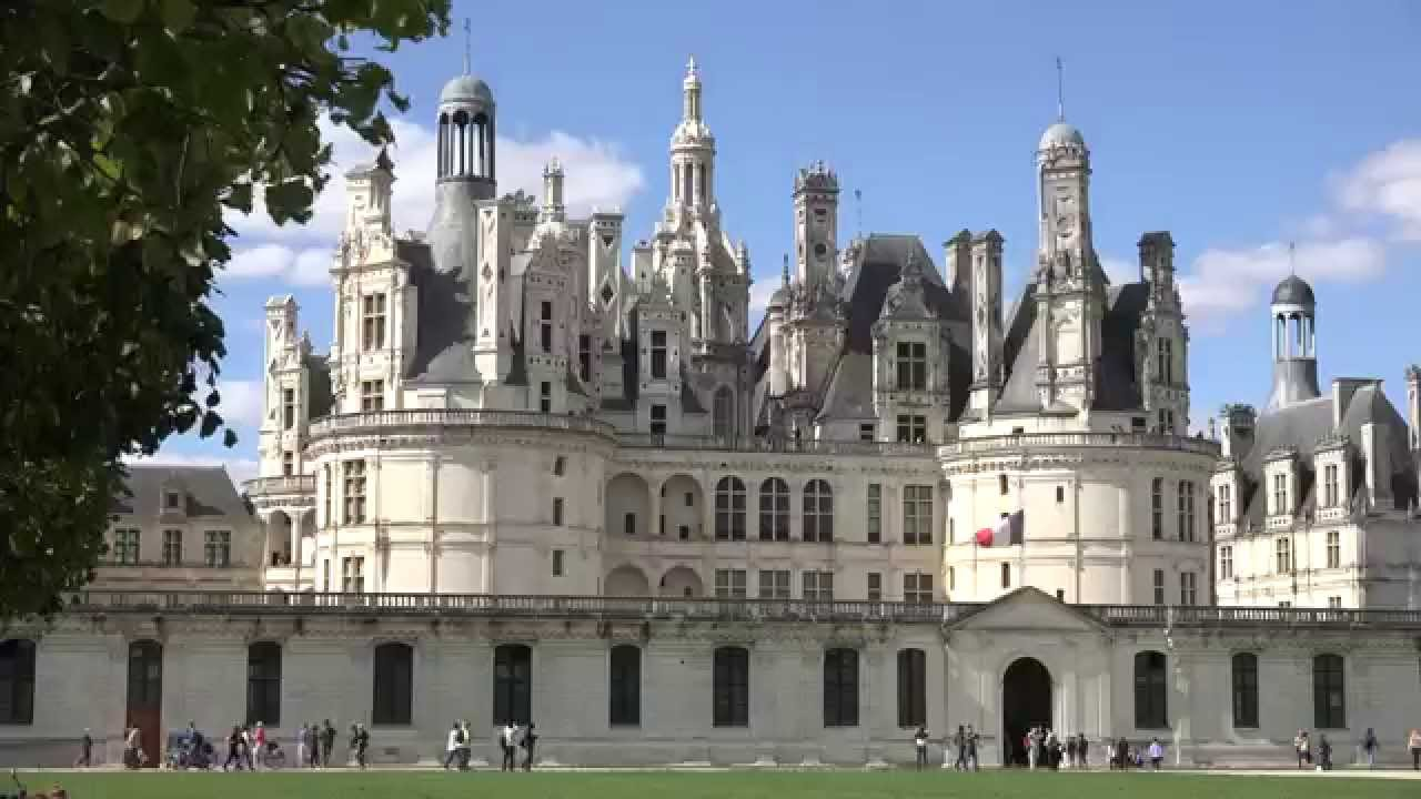 Châteaux of Loire Valley in France