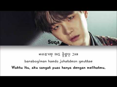 [INDO SUB] BTS (Suga) - First Love [Color Coded Lyrics Han|Rom|Indo]