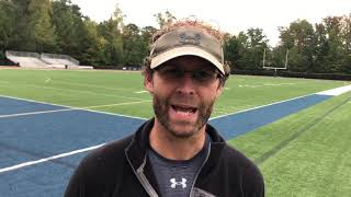 Football Preview | Strong Rock (Sr. Night) | Head Coach Wayne Dabbs | 11-01-18
