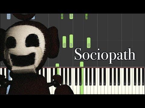 Dark Piano - Sociopath   Synthesia Tutorial