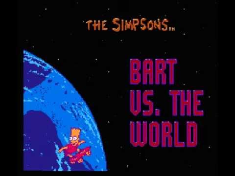 Simpsons, The - Bart Vs. the World (NES) Music - Egypt Theme