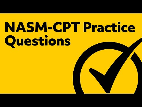 NASM-CPT Practice Questions - YouTube