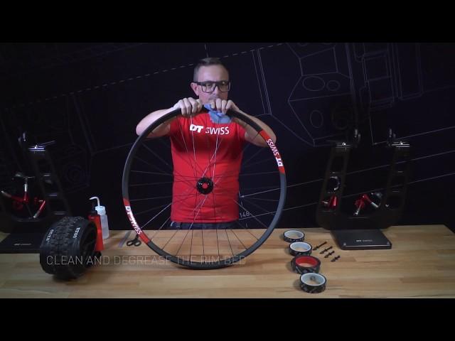 Видео Лента DT Swiss Tubeless Ready Tape