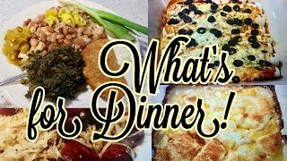 What's for Dinner || Easy dinners || Southern Favorites