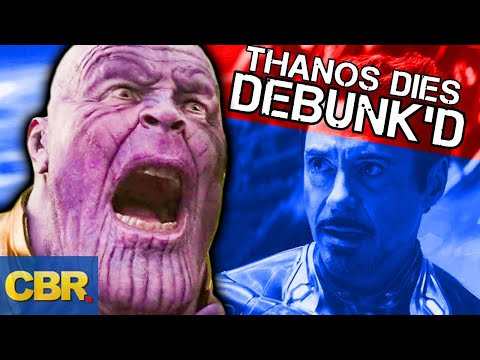 Thanos Will Die In Avengers Endgame And Never Come Back | Marvel Theory Debunked (видео)