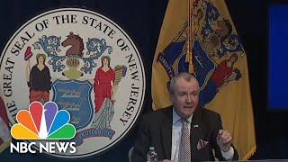 Live: New Jersey Governor Phil Murphy Holds Coronavirus Briefing | NBC News