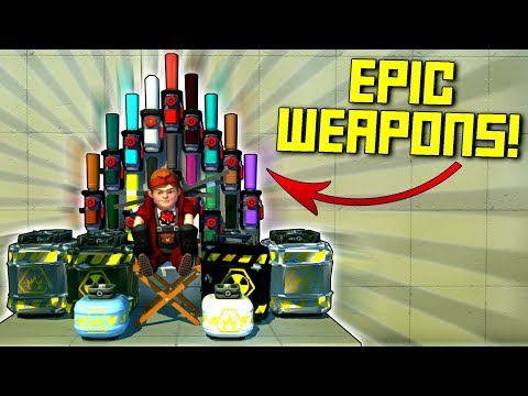 The Most Destructively Satisfying Game Show: Guess The Spudgun! - Scrap Mechanic Gameplay