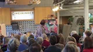 Homare Ikeda Art Demo&Talk Digest at Meininger (Nov 8, 2014)