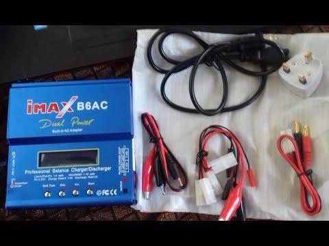 iMAX B6-AC B6AC Lipo Battery Balance Charger || Banggood || Unboxing