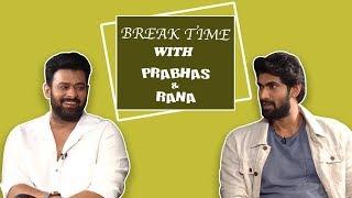 Break Time : Prabhas And Rana REACT To 'Katappa Ne Baahubali Ko Kyun Maara'