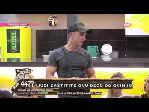 Zadruga 3 - Haos u Beloj kući, Adžić otkriva od koga je dobio novac - 18.11.2019.