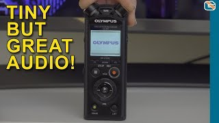 Olympus LS-P4 Audio Recorder Review and Audio Test