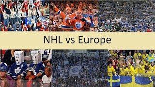 NHL Fans vs. Europe Fans