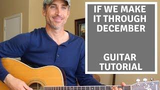 If We Make It Through December - Merle Haggard - Guitar Lesson | Tutorial