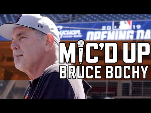 Bruce Bochy Mic'd Up on Opening Day