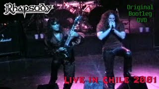 Rhapsody live in Chile (2001) Original Bootleg DVD