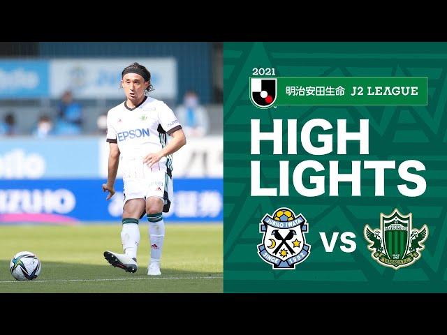 明治安田J2第7節<br>2021.4.10 磐田vs松本