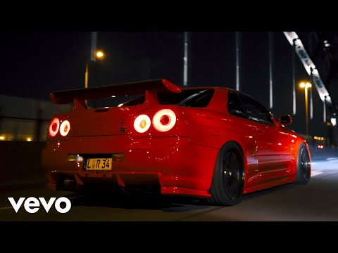 BAD NINJA - Are You Ready (Bass Boosted) / Nissan GTR R34 Showtime