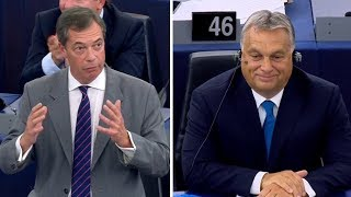 Farage to Orban: Come and join the Brexit club!