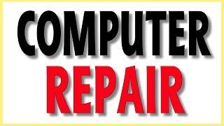 LIVE - Finalizing computer repair