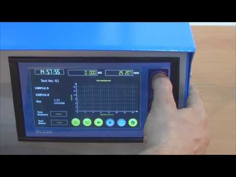 Automatic CBR Test Apparatus