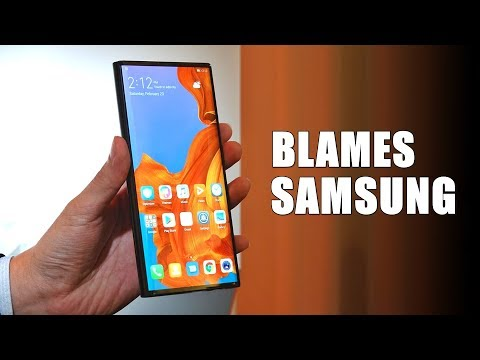 Huawei Is Blaming Samsung