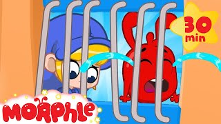 Morphle Cries IN JAIL! - Mila and Morphle | Cartoons for Kids | My Magic Pet Morphle