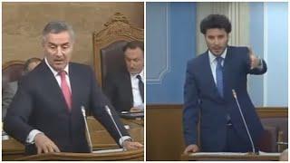 Skupština: Dritan očitao lekciju Milu, Milo van sebe (25.01.2016)