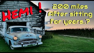 Dodge HEMI First Start In Years and DRIVEN HOME! - Vice Grip Garage EP46