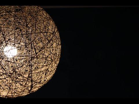 DIY Seil-Lampe - Modischer Lichtspender schnell und einfach selber basteln