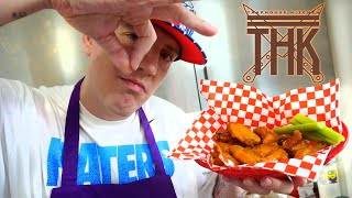 BUFFALO WINGS #Traphousekitchen S04E01 | Money Boy