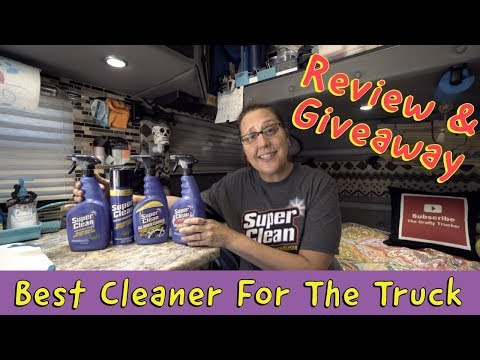 BEST CLEANER FOR THE TRUCK | Super Clean Review & GIVEAWAY