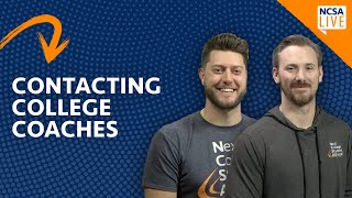 How to Contact College Coaches [When, Who, and the Best Ways]