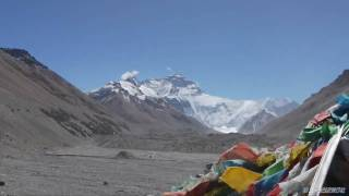 preview picture of video '-HD-チベット側から望むエベレストハイライト版 Everest from the Tibet side'