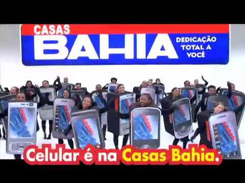 Celular é na Casas Bahia